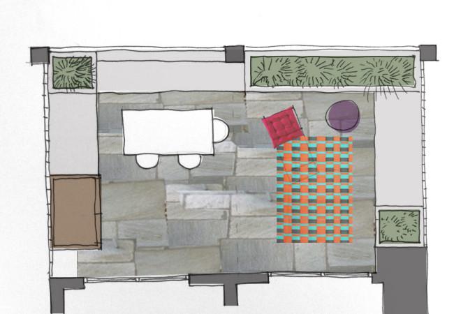 una terraza para soñar….