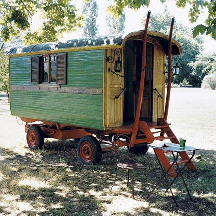 La cabaña de madera