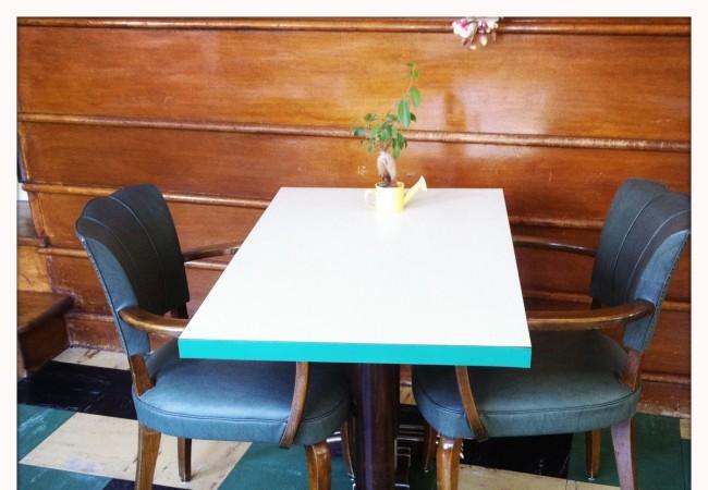 El bar del Hotel Beausejour, Vic-sur-Cère